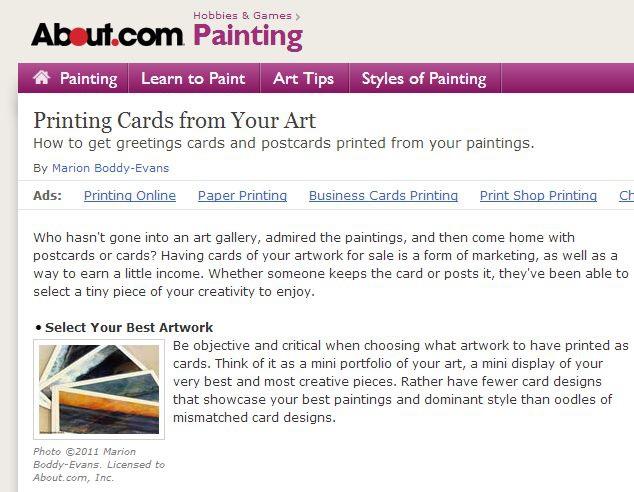 Printng Cards